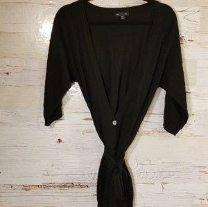 GAP black tie around sweater